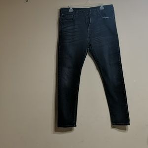 Levi's 512 Jeans Black wash denim jeans Men 38x32